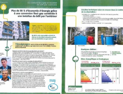 Conversion Fioul gaz – Témoignage de la SIAT